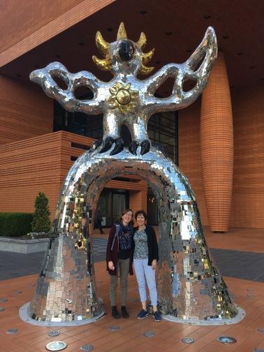 Sculpture downtown